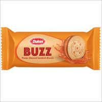 Orange Buzz Cream Biscuits