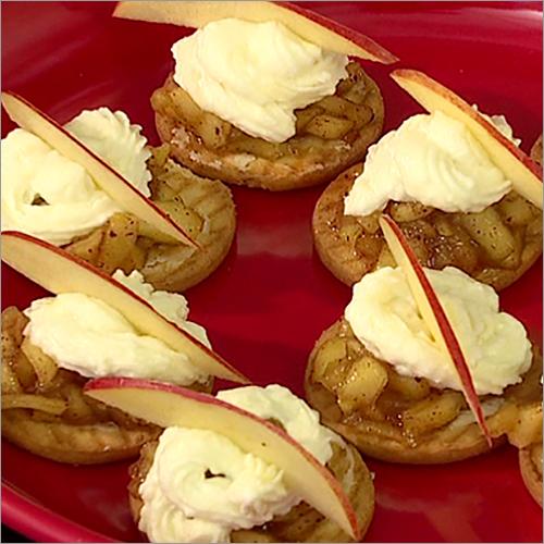 Apple Pie Cream Bites