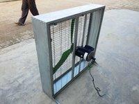 Poultry ventilation fan square
