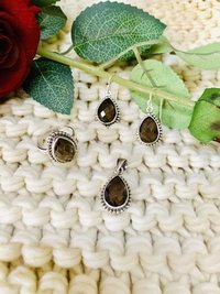Four Piece Sterling Silver with Stone Set
