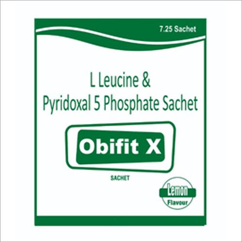 L Leucine and Pyridoxal 5 Phosphate Sachet