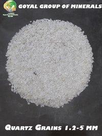 White Quartz Grains