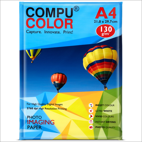 Cast Coated Primo Glossy 130 A4 Photo Imaging Paper