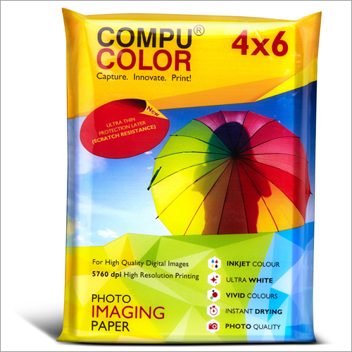Ultra Glossy 240 Resin Coated 4x6 Photo Imaging Paper
