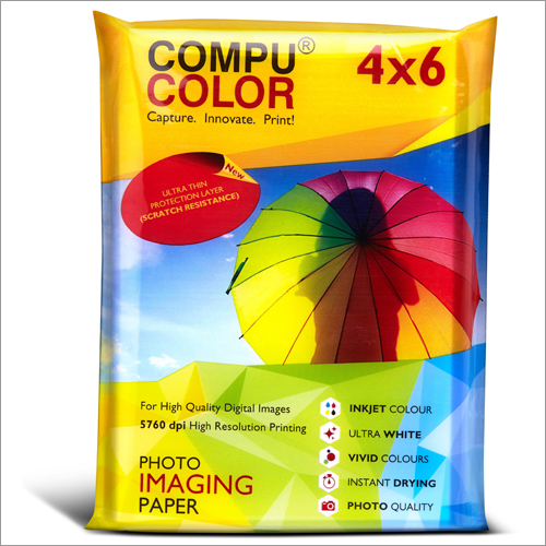 Ultra Lustre 250 Resin Coated 4x6 Photo Imaging Paper