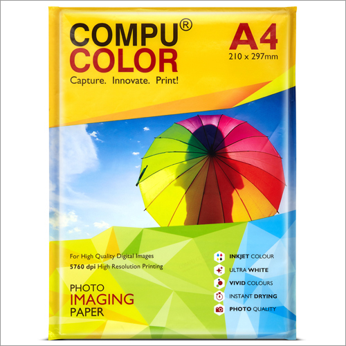 Ultra Lustre 250 Yellow A4 Photo Imaging Paper