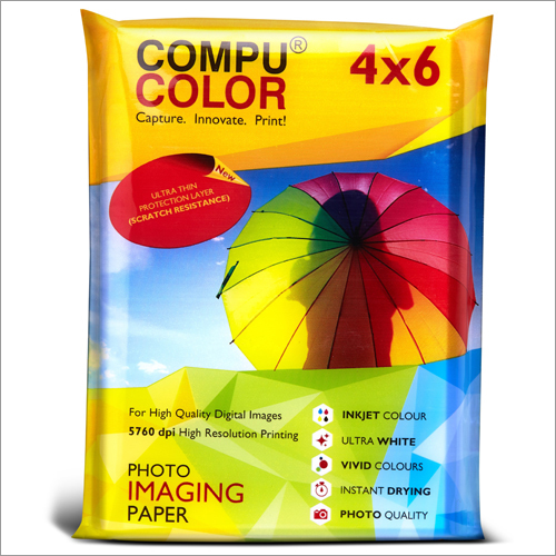 True Photo Glossy 270 Resin Coated 4x6 Photo Imaging Paper