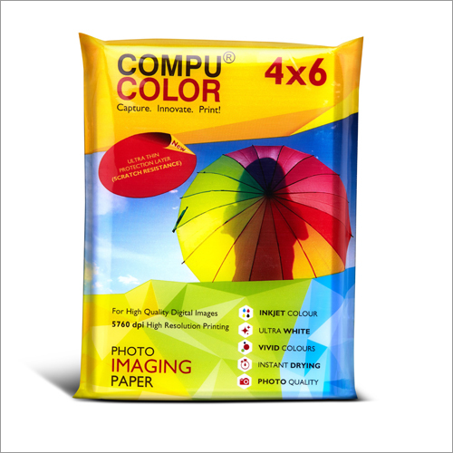 True Photo Lustre 275 Yellow 4x6 Photo Imaging Paper