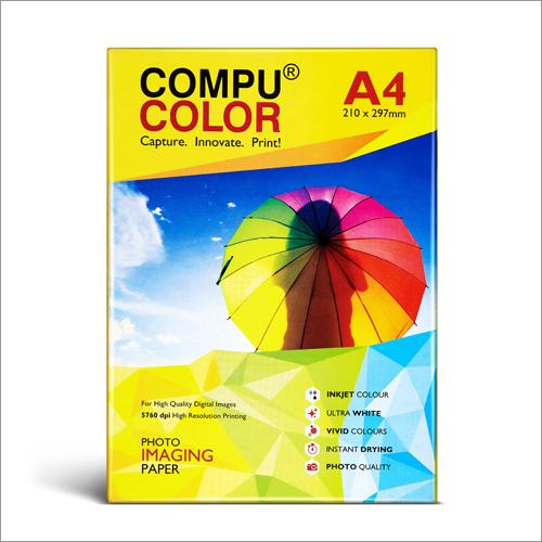 Scm Pro Matt 120 Yellow A4 Photo Imaging Paper