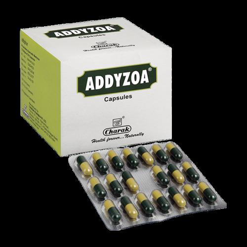 ADDYZOA CAPSULE( herbomineral spermatogenic antioxidant)