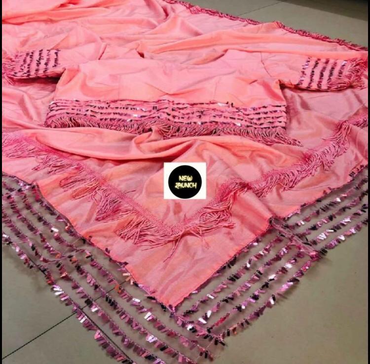 Heavy Vichitra Silk