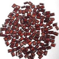 5x7mm Mozambique Red Garnet Faceted Octagon Loose Gemstones
