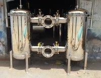 SS316 Duplex Water Filter System
