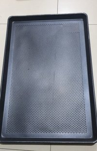 Baking Tray Perforated Non Stick 60 x 40 x 2 cm Straight Wall for Commercial Baking