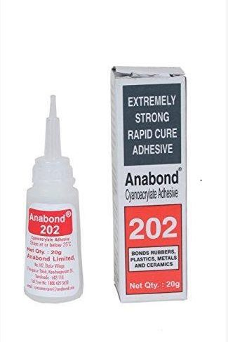 Anabond 202 Cyanoacrylate Adhesive , 20 gm