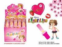 Light lipistick lollipop