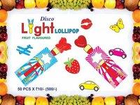 Light candy lollipop