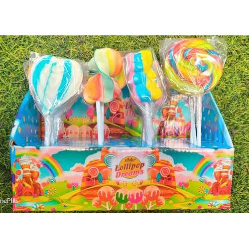 Fruit mix lollipop