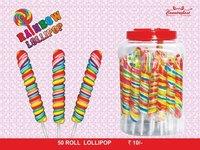 Rainbow Roll lollipop