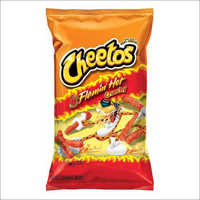Hot Cheetos Cheese Flavoured Snacks