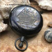 Antique Pocket Compass