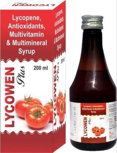 Lycopene Antioxidants Multivitamin Syrup