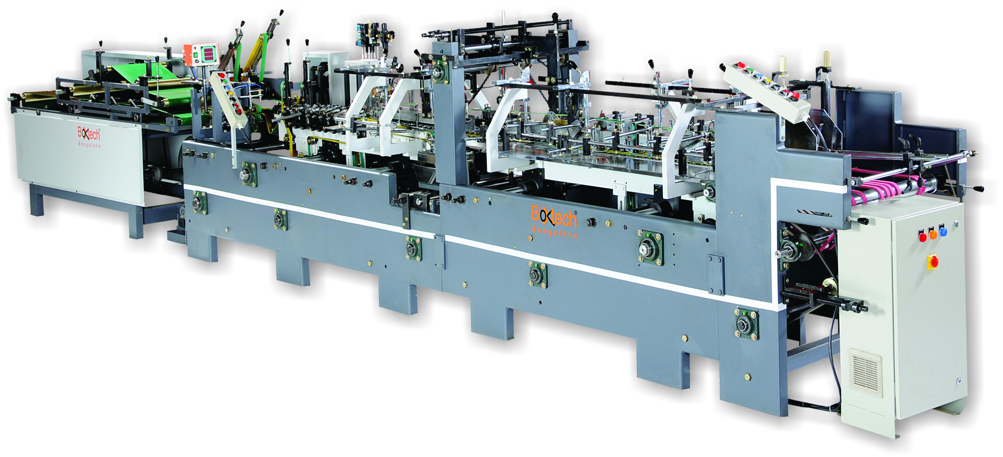 BT-65 straight line carton folder gluer