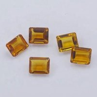 9x11mm Citrine Faceted Octagon Loose Gemstones