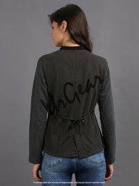 Women Dark Grey Jacket