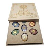 Seven Chakra Oval Shape Reiki Sets