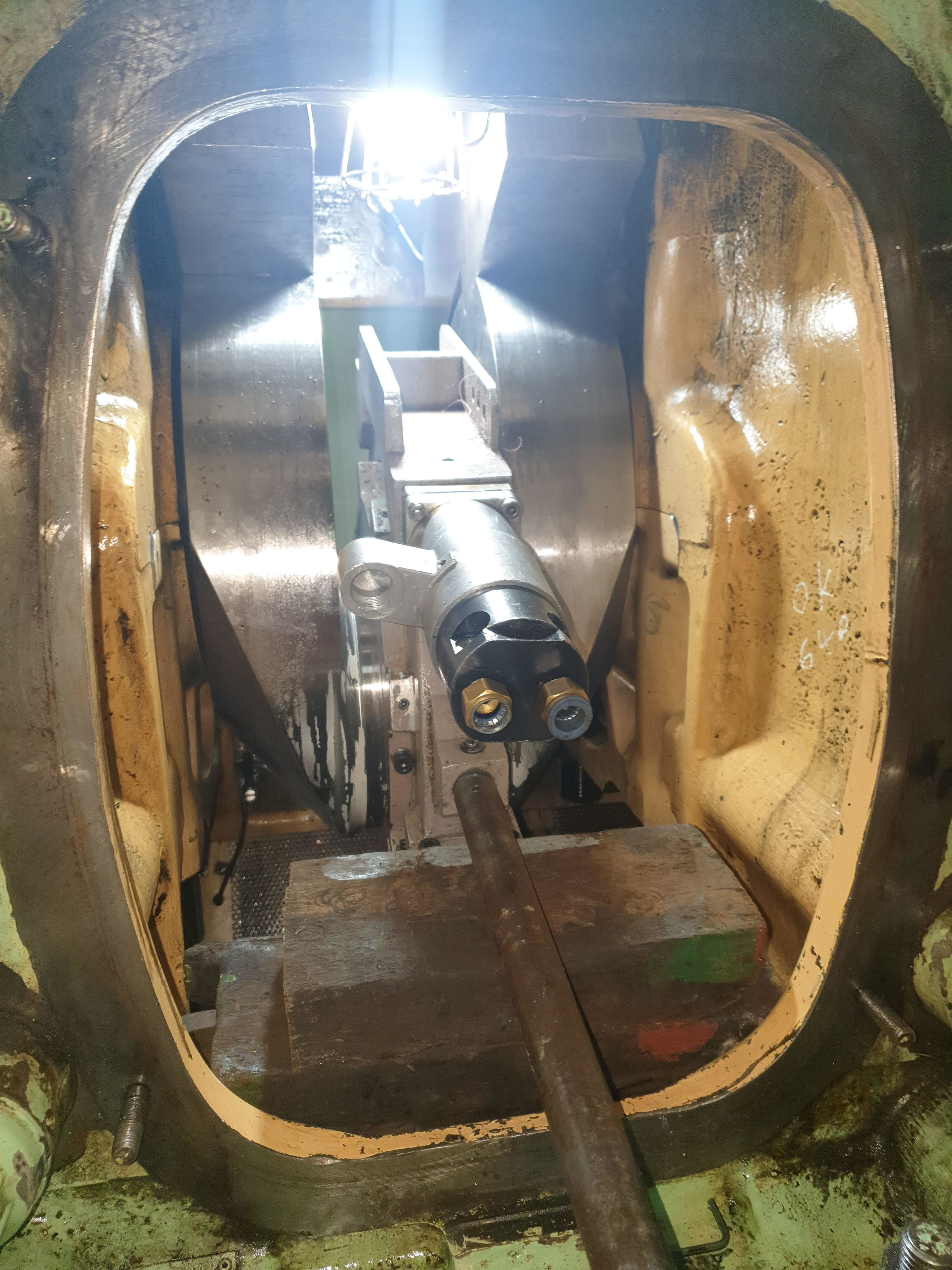 Bergen Rolls Royce Crankshaft repair / Rolls Royce Engine Crankshaft Grinding / RA Power Solutions