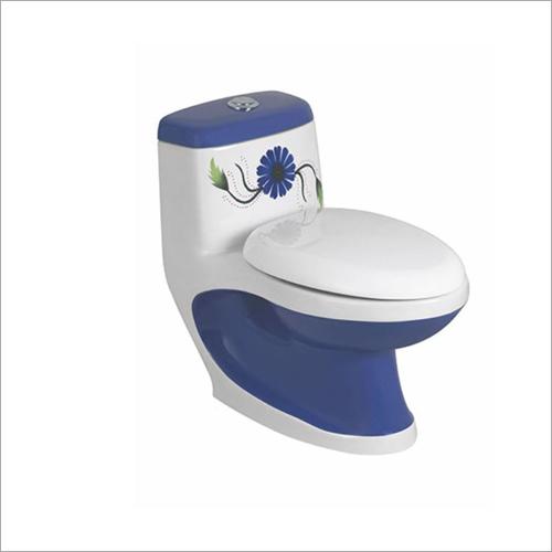 Double Color One Piece Toilet