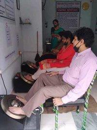 Kansya Thali Foot Massage