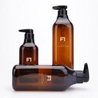 Premium Shampoo bottles