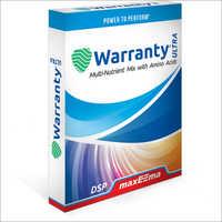 Maxeema Warranty Ultra Mockup Plant Nutriton
