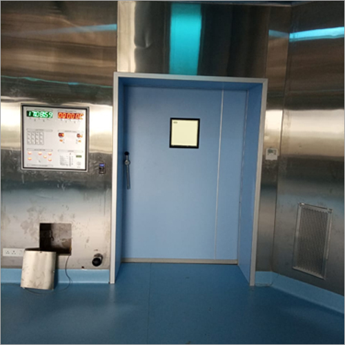Radiation Sliding Doors