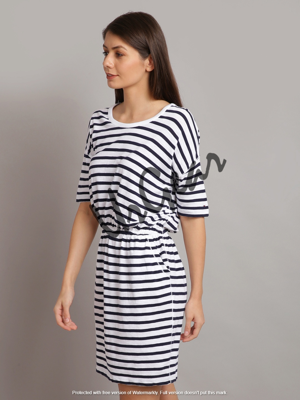 UrGear Women Bandage White Dress
