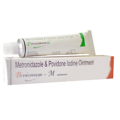Povidone Iodine And Metronidazole Ointment