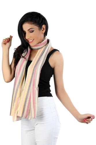 As Per Pic 100%Cotton Stripe Scarves
