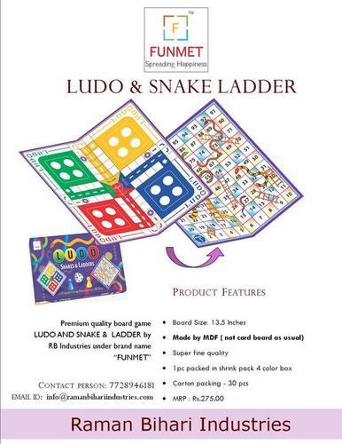 Ludo and Snake ladder