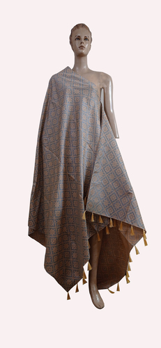 Printed Embroidered Fringes Fancy Dupatta