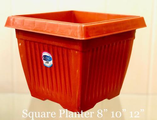 Plastic Square Planter