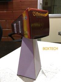 Carton folder gluer With Hot Gluing attachment