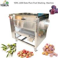 Ydpl-1000c Wholesale Tuber Vegetables Washing Cleaning Skinning Machine Guava Brush Peeling Machine