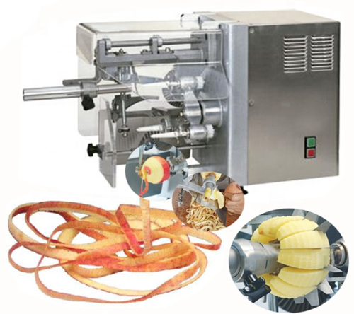 Sap-5 New Type Table Top Apple Peeling & Core Removing &cutting Machine