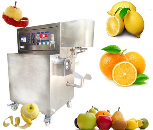 YD-700F Fruit Peeling Machine Juice Fruit Peeler for Pear Orange, Kiwi, Lemon