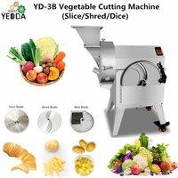 YD-3B Wholesale Tomato,pepper,carrot, potato,cucumber,onion,eggplant,lotus,tomato slice strip dice cube cutting machine