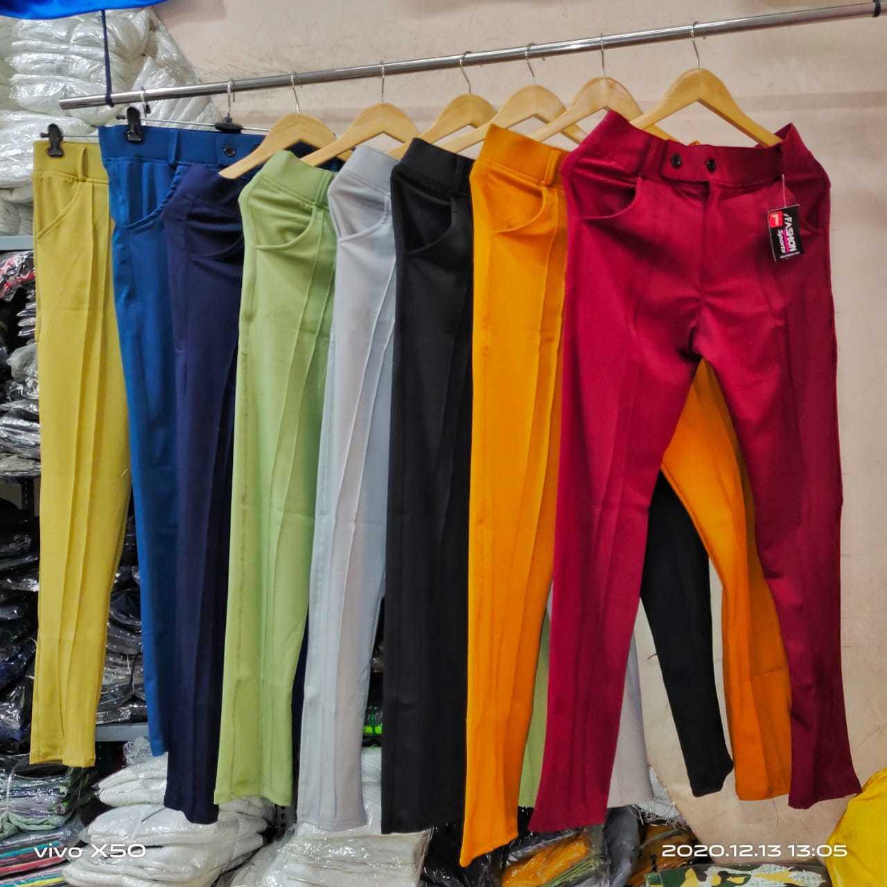 Mens 4 Way Lycra Track Pants