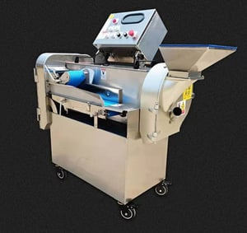 Yd-801l Factory Price Double-head Bitter Gourd Cutting Machine Automatic Cassava Slicing Machine