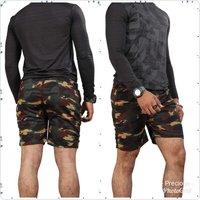 Mens Cargo Army Shorts